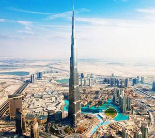 Обои на телефон здания, мир, бурдж, world longest building, burj khalifa