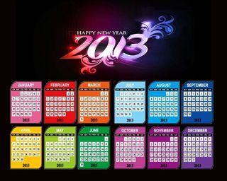 Обои на телефон календарь, vir676-calendar, 2013