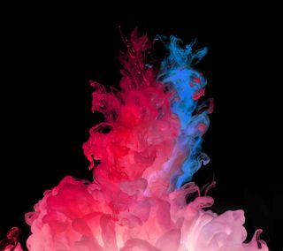 Обои на телефон цветные, дым, абстрактные, lg, g3 smoke remixed, g3