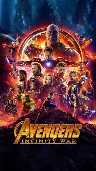 Обои на телефон постер, фильмы, мстители, война, бесконечность, avengers  infinity, 2018