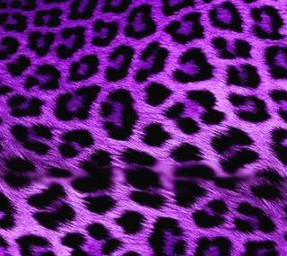Обои на телефон мех, леопард, фиолетовые