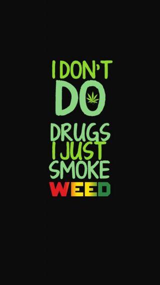 Обои на телефон юмор, не, наркотики, i dont do drugs