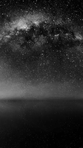 Обои на телефон серебряные, черные, небо, космос, звезды, великолепные, белые