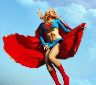 Обои на телефон супер девушка, герой, супер, девушки