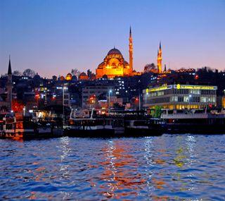Обои на телефон стамбул, мечеть
