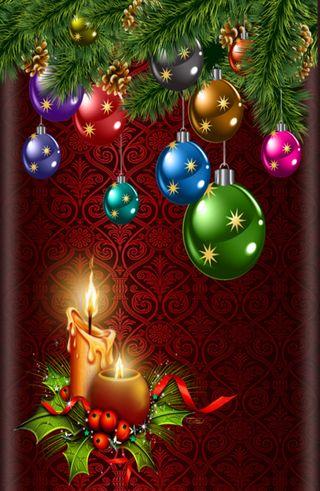 Обои на телефон праздник, рождество, красые