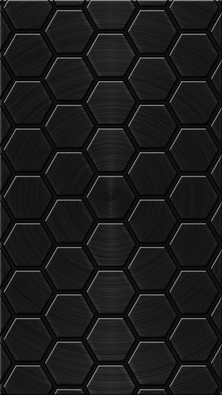 Обои на телефон многоугольник, черные, серые, поли, black poly