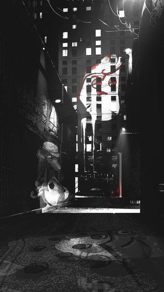 Обои на телефон городские, улица, тег, крутые, граффити, город, арт, graffiti alley, art