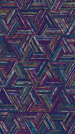 Обои на телефон треугольники, цветные, абстрактные