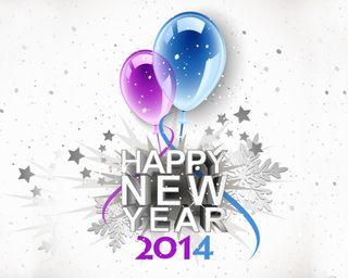 Обои на телефон 2014, happy, новый, рождество, счастливые, зима, год, празднование