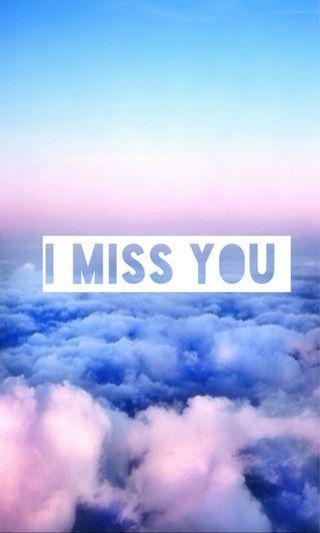 Обои на телефон ты, скучать, облака