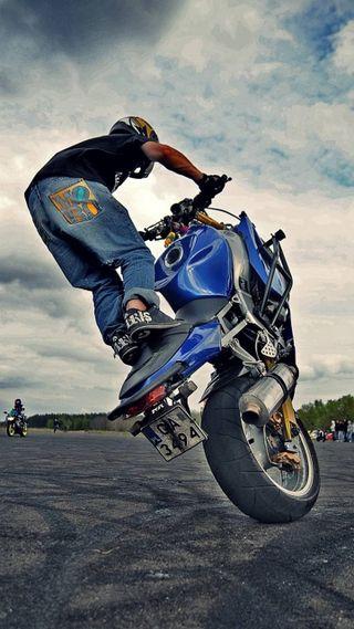 Обои на телефон мотоциклы, байк, motor, grau