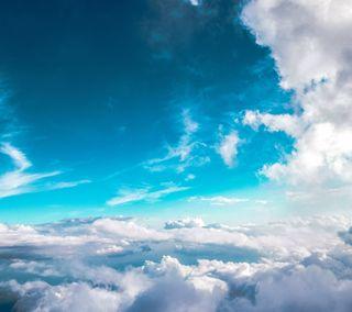 Обои на телефон небеса, природа, облака, небо