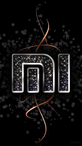 Обои на телефон сяоми, черные, оранжевые, ми, логотипы, xiaomi logo, xiaomi, mi logo v2, mi logo