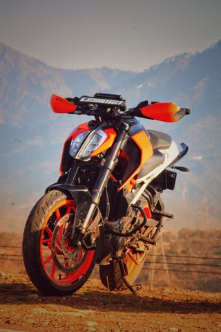 Обои на телефон мотоциклы, спорт, duke 390