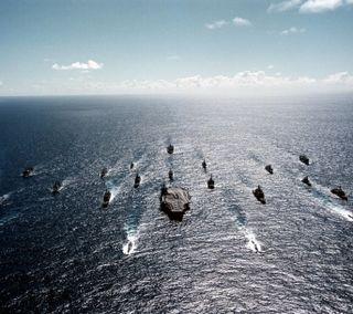 Обои на телефон корабли, военно морские, the navy strikes, hd