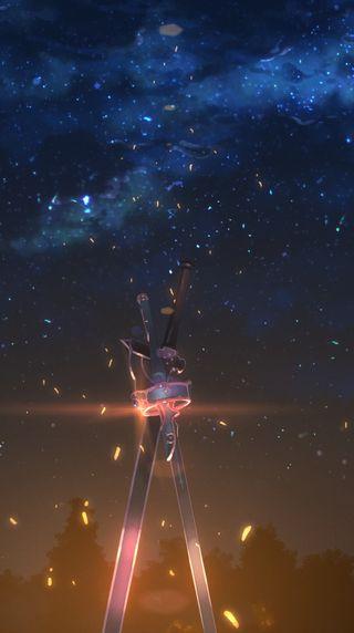 Обои на телефон меч, аниме, anime sword