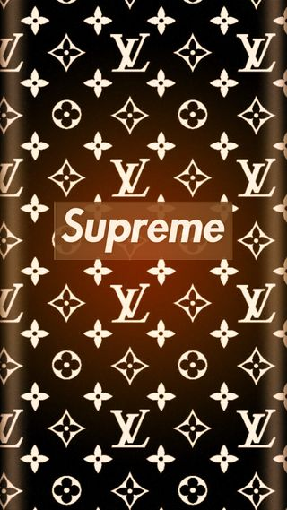 Обои на телефон золотые, supreme lx, supreme
