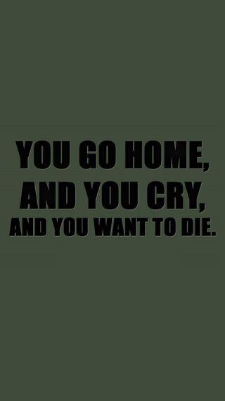 Обои на телефон умри, дом, депрессивные, грустные, go home and cry, cry