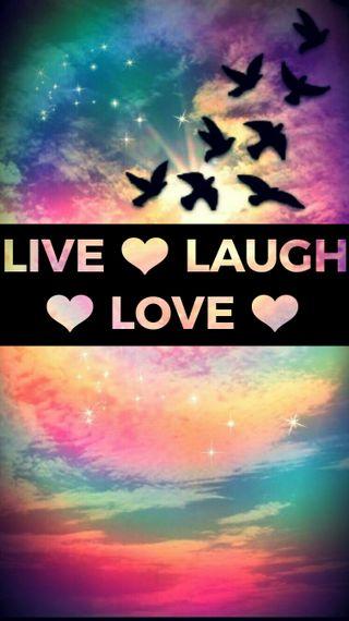 Обои на телефон смех, христианские, любовь, live laugh love