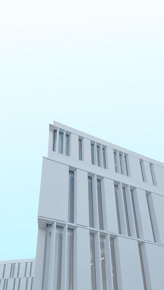 Обои на телефон архитектура, синие, серые, здания, дом, дизайн