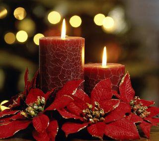 Обои на телефон свечи, свеча, свет, романтика, рождество, огонь, милые, крутые, красые