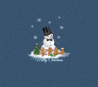 Обои на телефон снеговик, праздник, рождество, время, christmas time 12