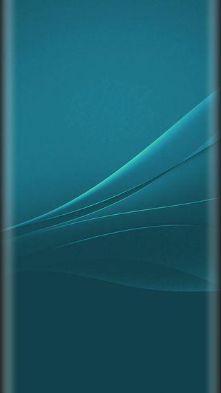 Обои на телефон цвет морской волны, стиль, синие, красота, дизайн, грани, абстрактные, s7, edge style, beauty design