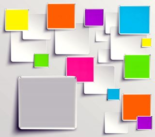 Обои на телефон геометрия, цветные, плитка, кубы, квадратные, colored tiles