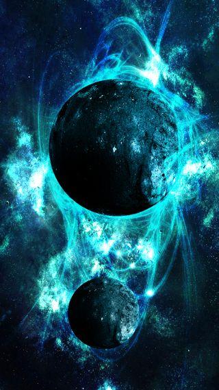 Обои на телефон планета, небо, космос, звезды, звезда, галактика, galaxy