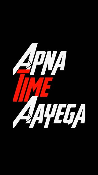 Обои на телефон престолы, цитата, время, ranveer singh, apna time aayega