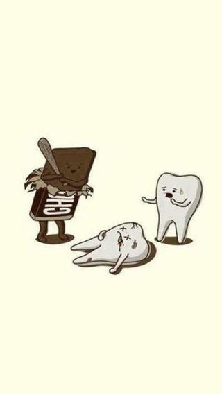 Обои на телефон шоколад, зло, evil chocolate, cdf