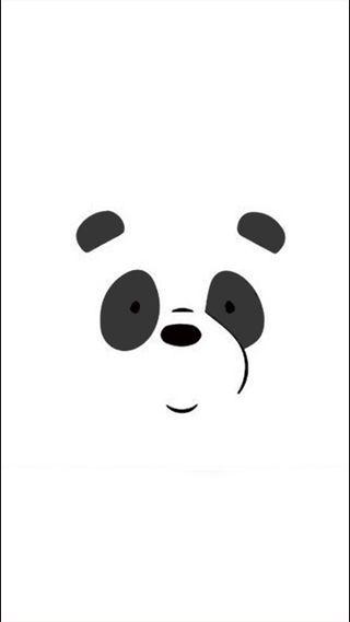 Обои на телефон полярный, панда, oso