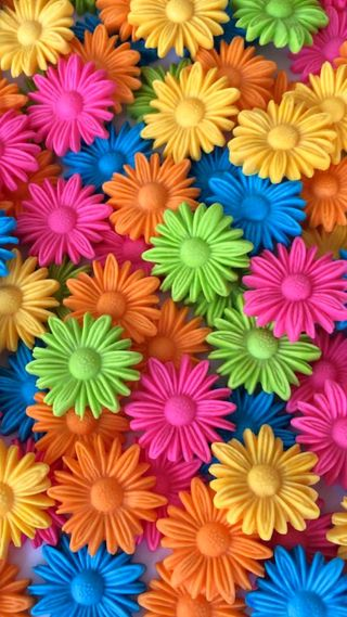 Обои на телефон синие, крутые, цветы, зеленые, красочные, желтые, оранжевые, яркие
