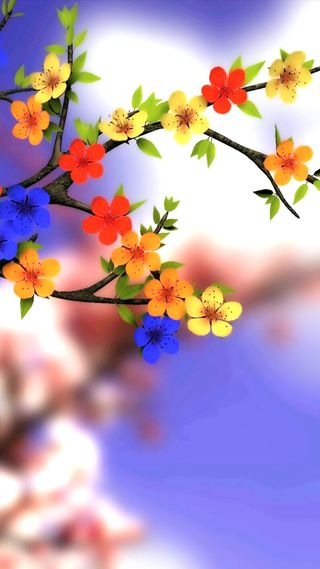 Обои на телефон весна, цветы, природа, красочные, spring flowers