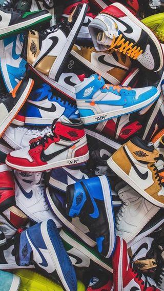 Обои на телефон обувь, джордан, баскетбол, белые, streetwear, off white, jordan 1, air