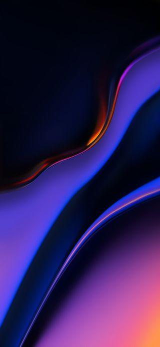 Обои на телефон фиолетовые, ультра, абстрактные, oneplus 6t