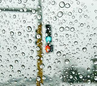 Обои на телефон роса, капли дождя, окно, мокрые, капли, дождь