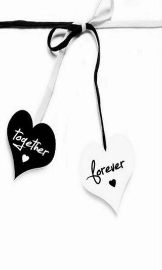 Обои на телефон всегда, черные, ты, сердце, навсегда, любовь, буквы, белые, love