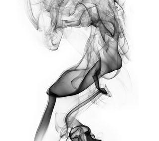 Обои на телефон дым, черные, белые