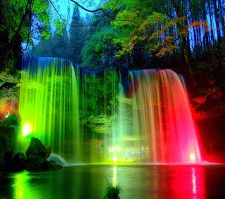 Обои на телефон beautiful  waterfal, прекрасные, водопад