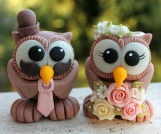 Обои на телефон торт, украшение, сова, милые, брак, wedlock, matrimony, cake decoration, 960x800px