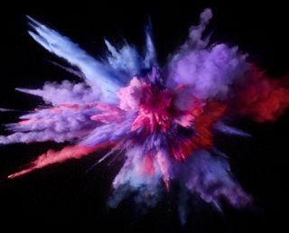 Обои на телефон взрыв, цветные, фиолетовые, purple color burst h, hd