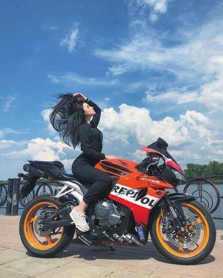 Обои на телефон модели, хонда, мотоциклы, мото, девушки, байк, tanya, repsol, honda
