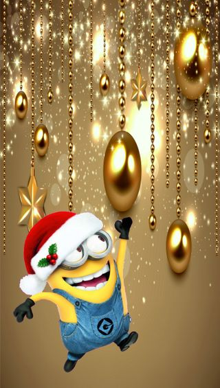 Обои на телефон христос, шары, рождество, миньоны, minions christmas balls, minions christ balls