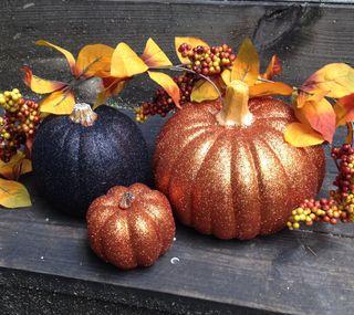 Обои на телефон тыква, хэллоуин, светящиеся, осень, samhain, fall glow pumpkins