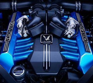 Обои на телефон роллс, машины, двигатель, авто, v12 engine, rr, royce, motor