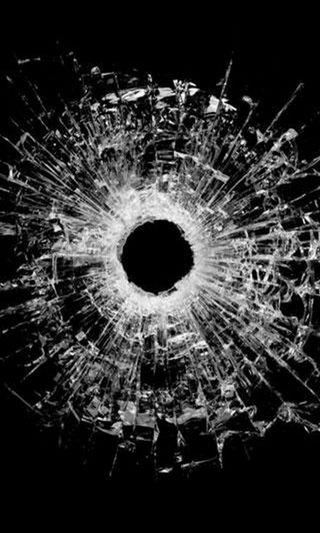 Обои на телефон экран, шутка, фан, треснутые, пранк, отверстие, обманывать, bullet hole, bullet