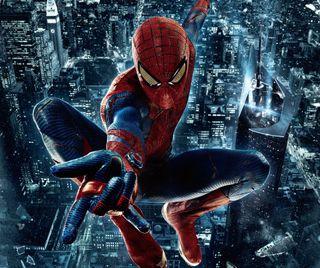 Обои на телефон человек паук, удивительные, spiderman 4
