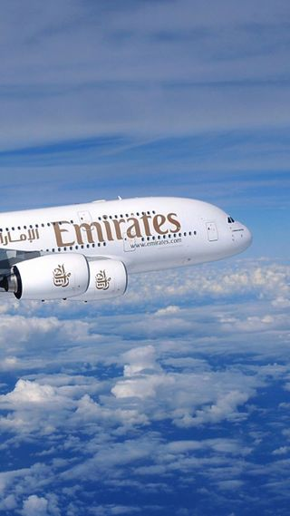 Обои на телефон самолет, planes, emirates